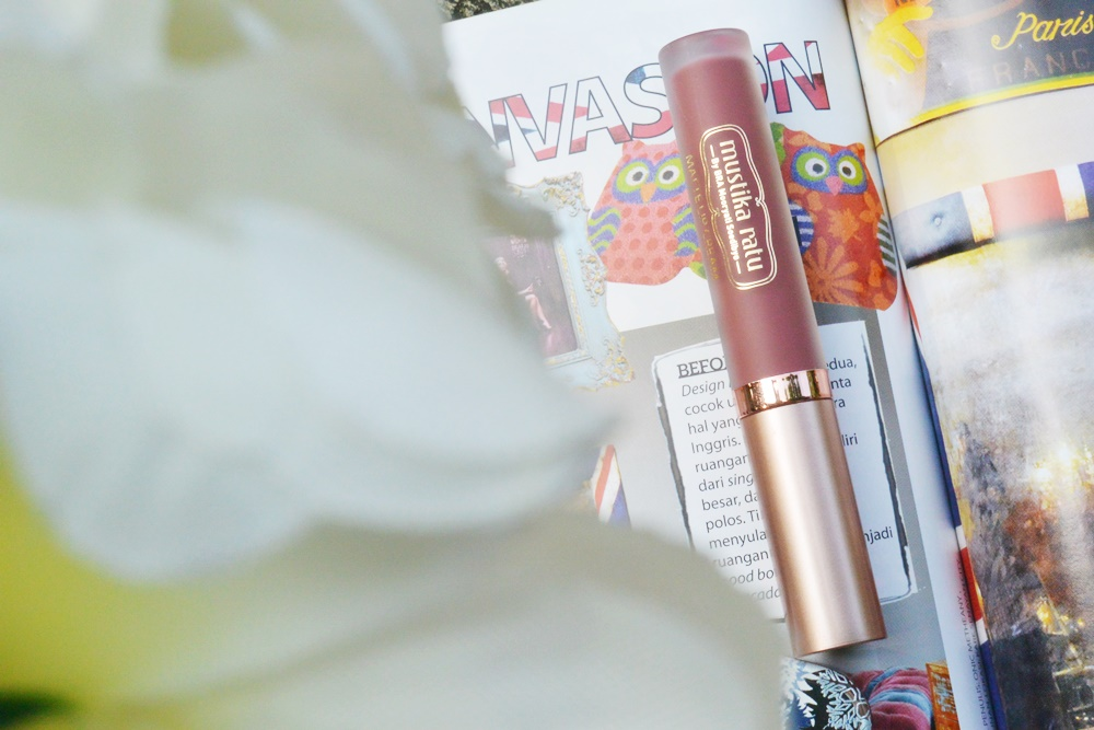 Mustika Ratu Matte Lip Cream Review